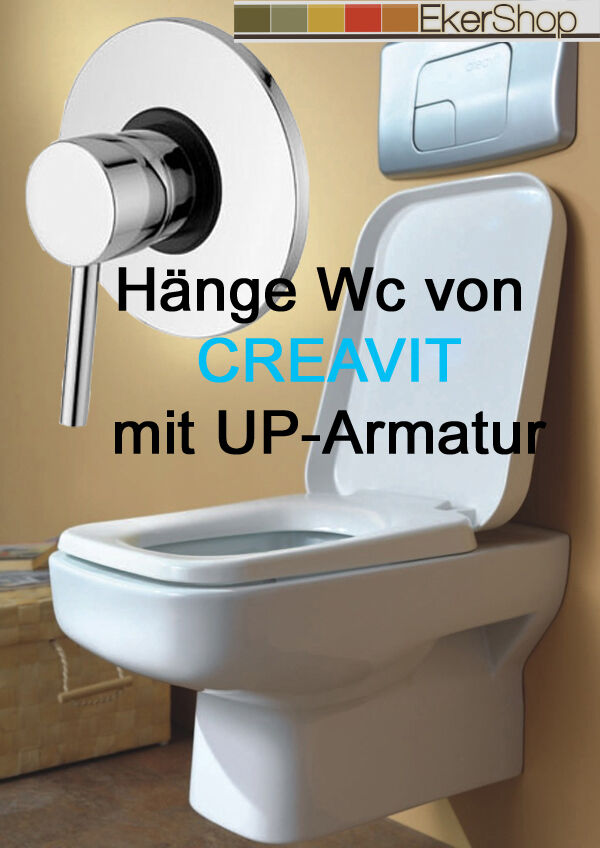 h nge wand wc mit unterputz armatur taharet bidet taharat. Black Bedroom Furniture Sets. Home Design Ideas