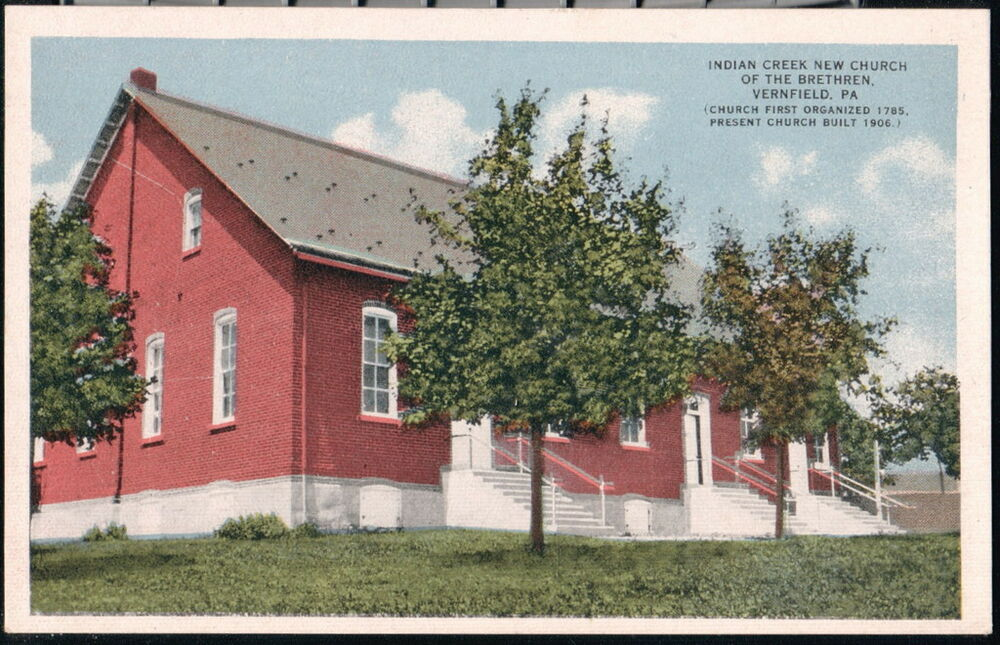 vernfield pa indian creek new church of the brethren vtg