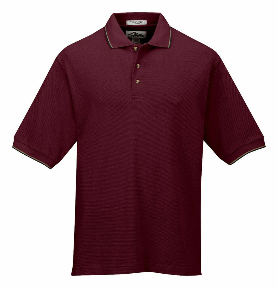 tri mountain men 39 s big and tall two tone collar golf shirt