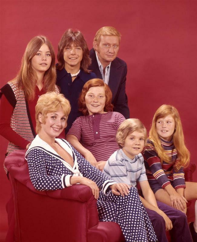 THE PARTRIDGE FAMILY CAST TV 8X10 GLOSSY PHOTO