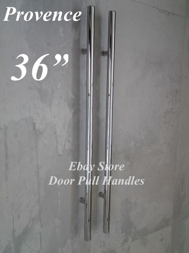 36 Quot Store Front Pull Door Handles Polished Stainless Steel