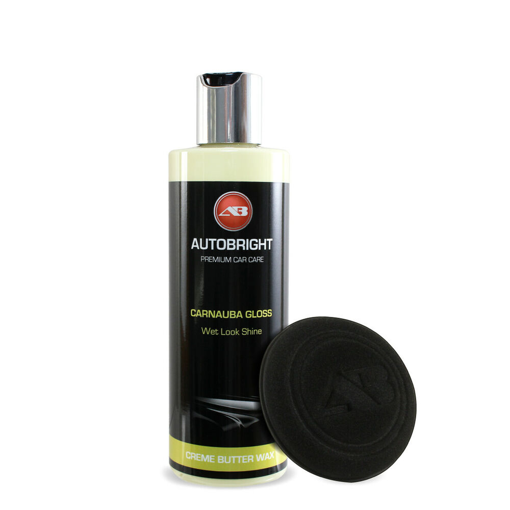autobright car wax polish for all colours carnauba gloss. Black Bedroom Furniture Sets. Home Design Ideas