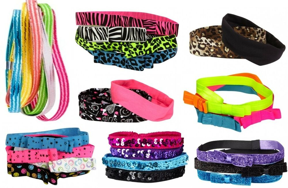 Justice Toys For Girls : Nwt justice girls headband head wrap hair accessories set