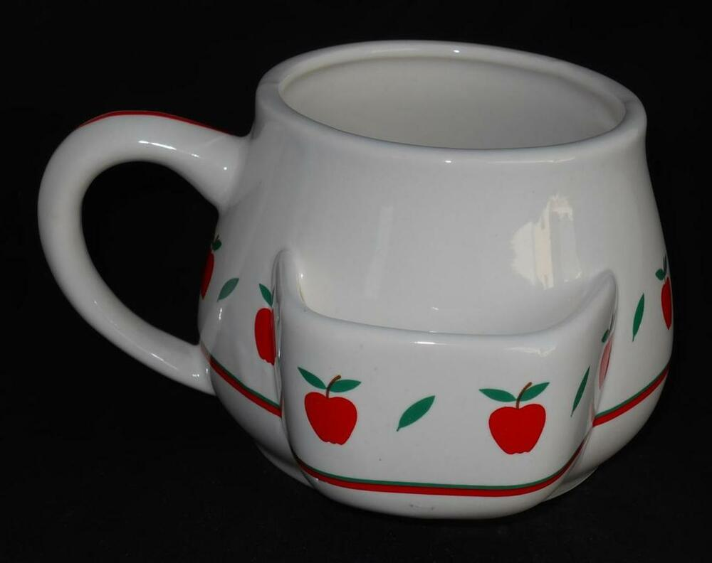 Tea Bag Holder Strawberry Cup Mug Figurine Ebay