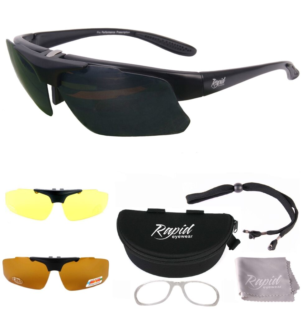 Cycling Sunglasses Polarized 5 Interchangeable Lenses