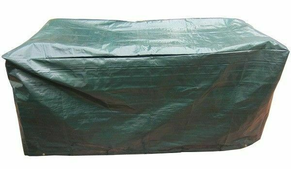 Durable Waterproof Green 5ft 1 5m 3 Seater Garden Bench