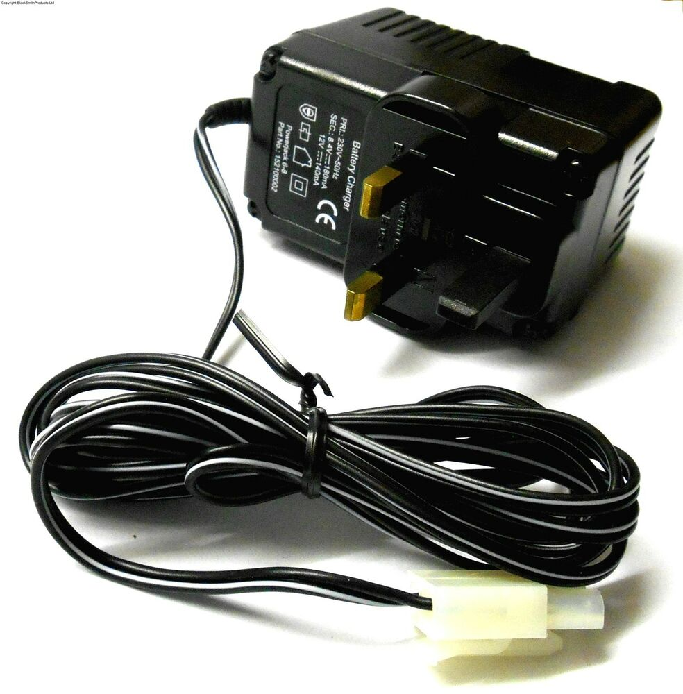 152100002 7.2v Large Tamiya Battery Charger 6-8 Cell RC