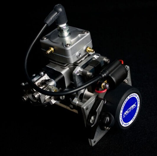 Rcmk sx254 evo marine gas engine for large scale rc boat for Gas rc boat motors