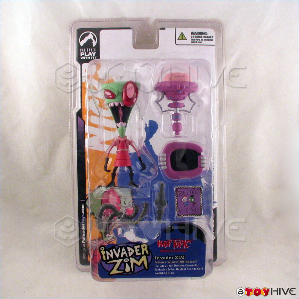 Toys From Hot Topic : Invader zim all new likeness exclusive hot topic