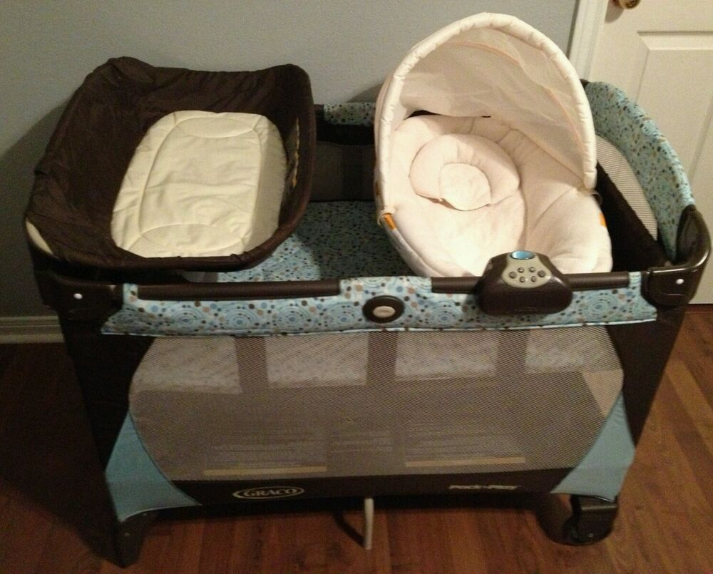 Graco Pack 'N Play Travel Play Yard with Changing Table ...