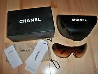 *AUTHENTIC* Gently Used Chanel Sunglasses 4148-B 125/13 Brown Color