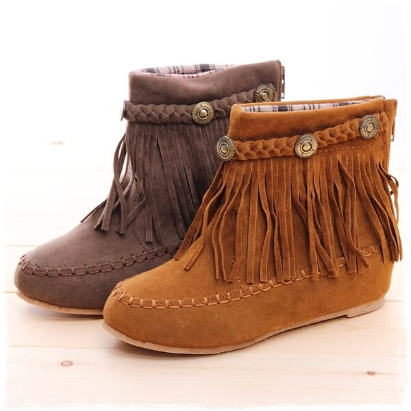 Find great deals on eBay for suede fringe ankle boot. Shop with confidence.