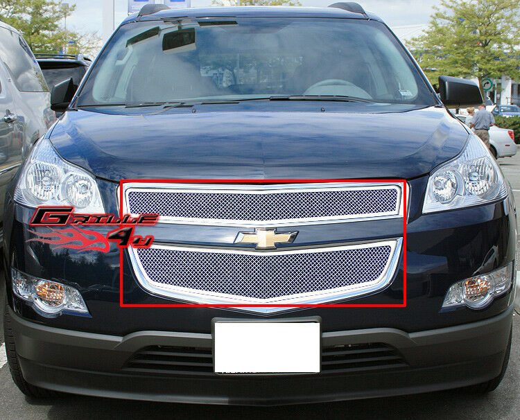 Fits 2009-2012 Chevy Traverse Stainless Steel Mesh Grille ...