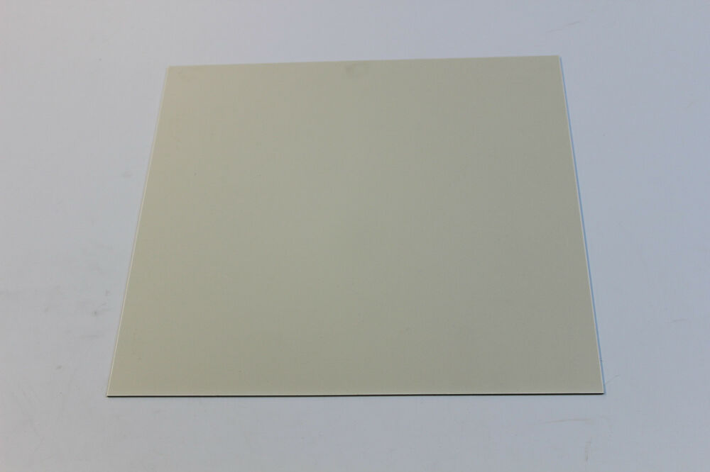 Styrene Polystyrene Plastic Sheet 080 Quot Thick 12 Quot X 12