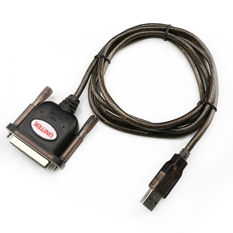 Parallel Port Cord : Usb to pin db parallel port cable ebay