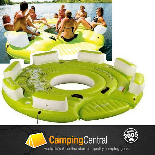 Inflatable Kids Birthday Chair: SEVYLOR PARTY DOCK (8 PERSON) INFLATABLE TUBE BISCUIT