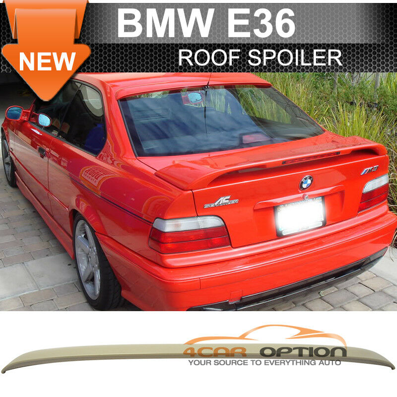 92 98 bmw e36 3 series 2dr ac style unpainted roof spoiler. Black Bedroom Furniture Sets. Home Design Ideas
