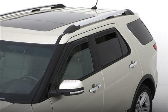 Ventvisors In Channel 4 Pc Window Rainguards Explorer Wind