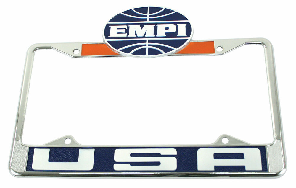 Vw license plate frame