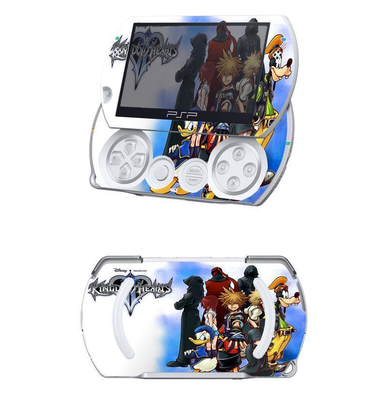 Kingdom Hearts 005 Vinyl Decal Skin Sticker For Sony Psp. Time Attendance Banners. Elder Scroll Logo. Nautical Wall Murals. Seoul Lettering. City Park Signs Of Stroke. Zx6r Stickers. Sign Letters. Antique Ribbon Banners