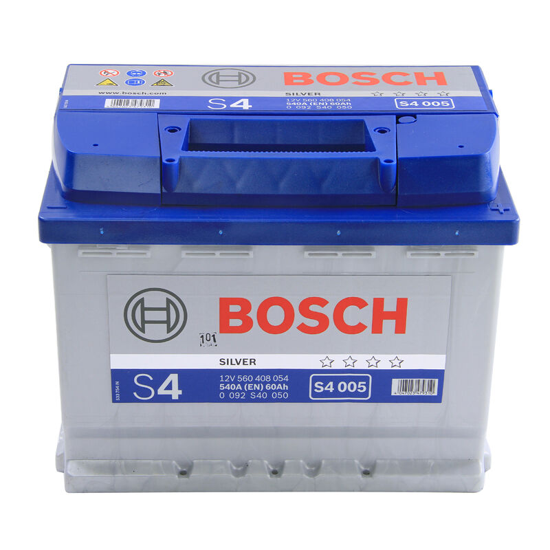 bosch car battery 12v 60ah type 027 540cca 4 years wty sealed oem replacement ebay. Black Bedroom Furniture Sets. Home Design Ideas