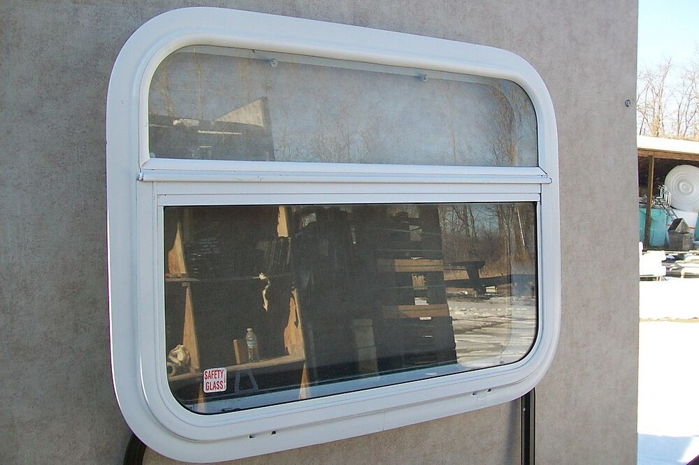 New white kinro 24x18 rv crank window camper trailer 24 x for 18 x 24 window