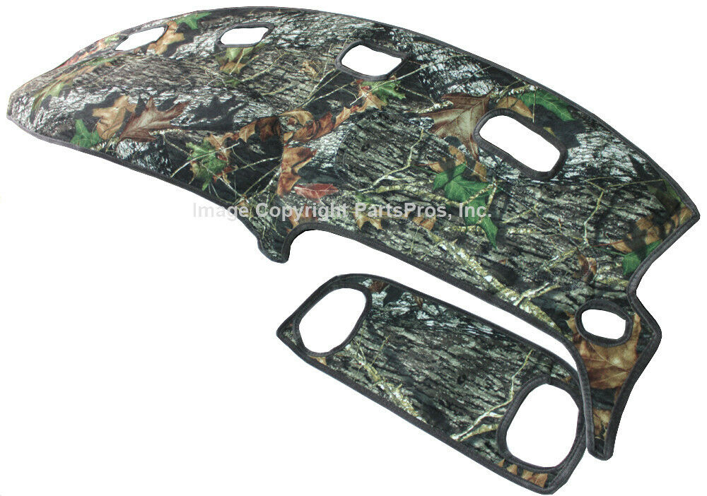 New Mossy Oak Camouflage Camo Dash Board Mat Cover For