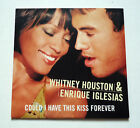 WHITNEY HOUSTON & ENRIQUE IGLESIAS Could I Have This Kiss Card Sleeve cd single
