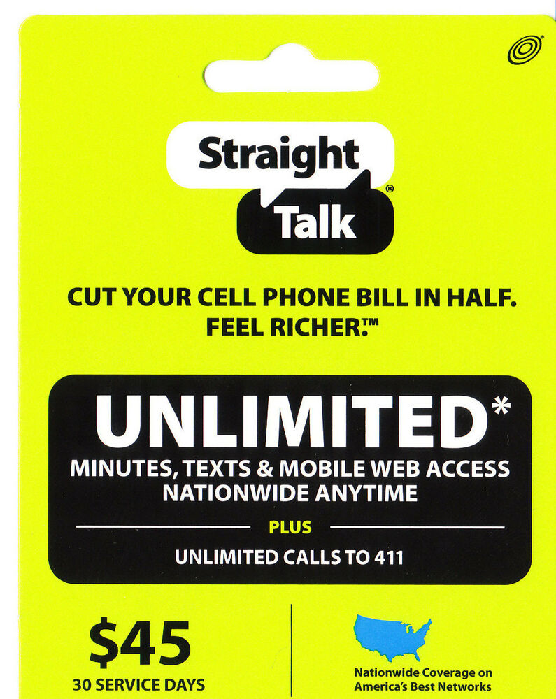 Straight Talk Home Phone Refill