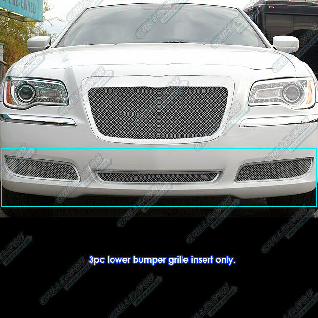 2011 Chrysler Dodge 300 300c Parts Manual: Fits 2011-2014 Chrysler 300/300C Bumper Stainless Steel