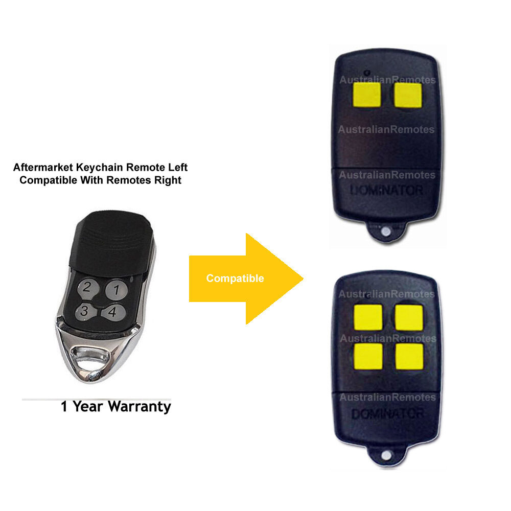 Garage Door Remote Control Compatible With Ads Dominator