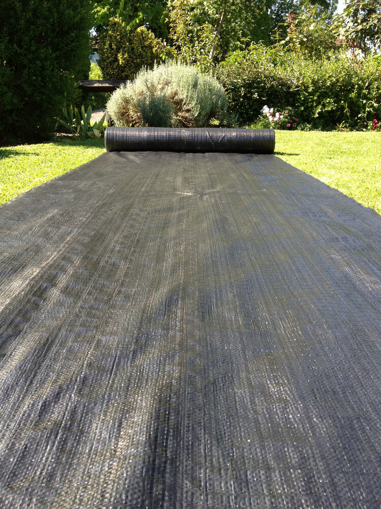 Heavy Duty Landscaping : Weed control fabric heavy duty woven ground cover m