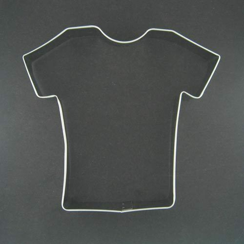 football cookie cutter template - t shirt shirt football uniform team jersey 4 5 metal