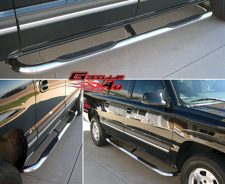 Fits Avalanche/Suburban/Yukon XL (Inc.2013) S/S Side Step Nerf Bars | eBay