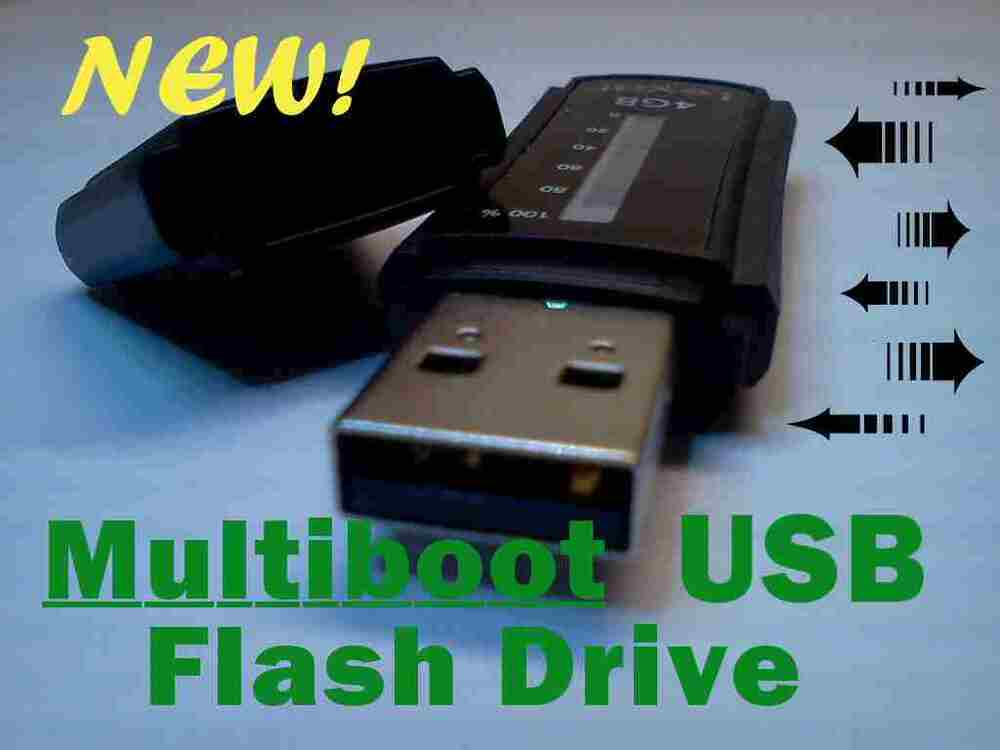 Creating a multi boot linux usb