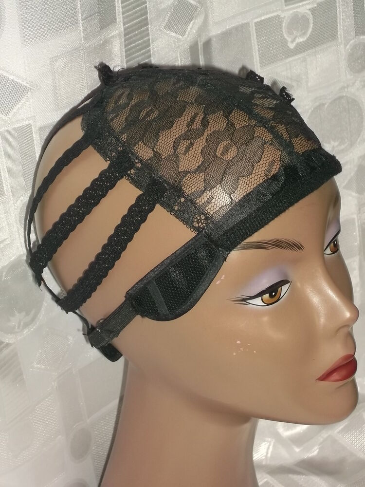 Wig Cap Wig Base Cap For Making Wigs Adjustable Breathable