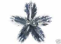 30 Inch Huge Hanging Foil Gold And Silver Star Christmas Decoration (PM18)