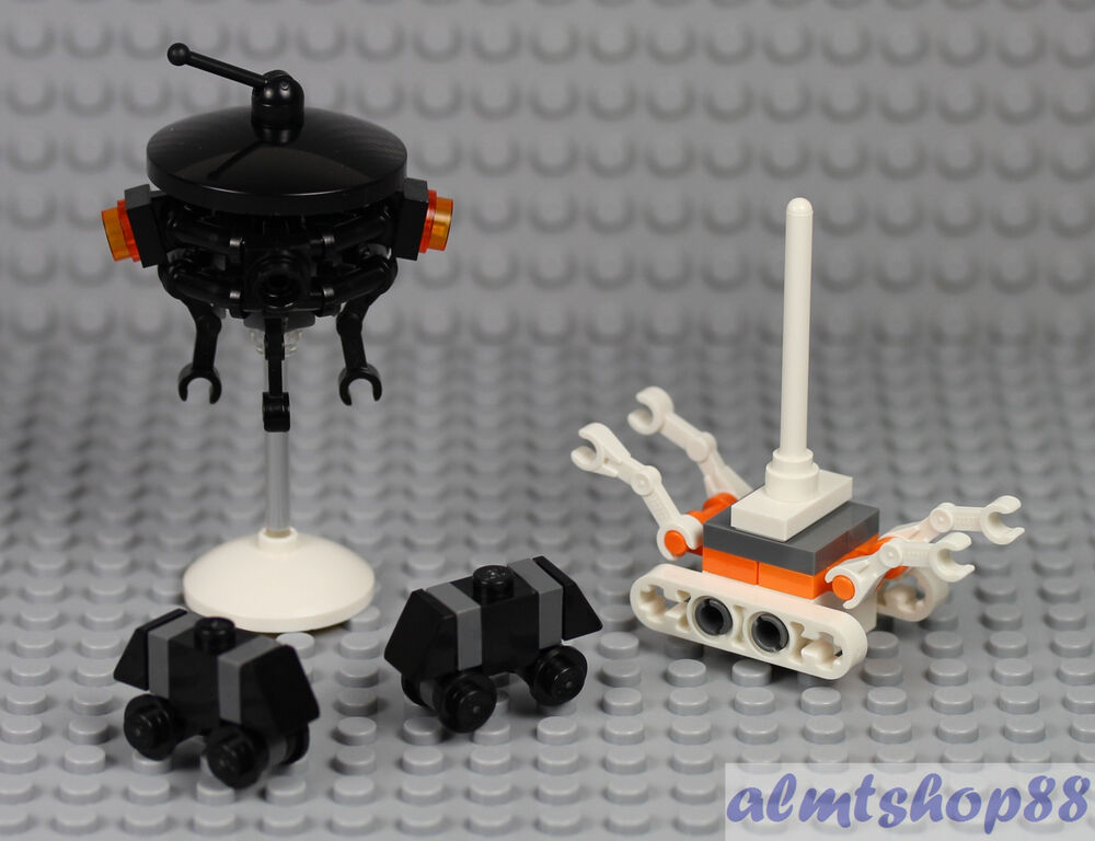 Lego star wars imperial probe droid mouse treadwell - Lego star wars vaisseau droide ...