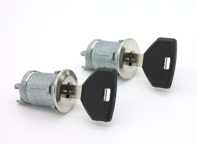 New Lockcraft Door Lock Cylinder Pair For Listed Dodge