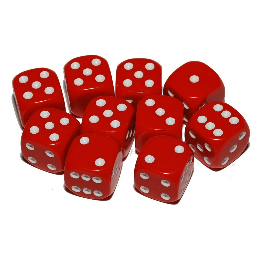 red 10 sided die images