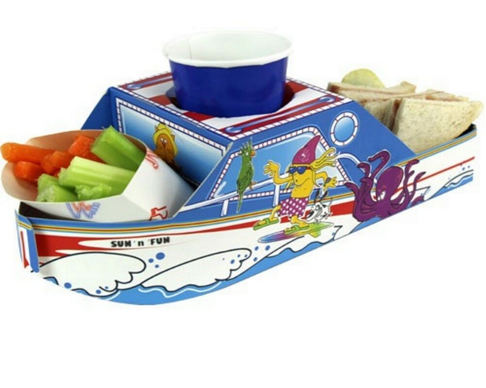 Speedboat Party Meal Food Trays