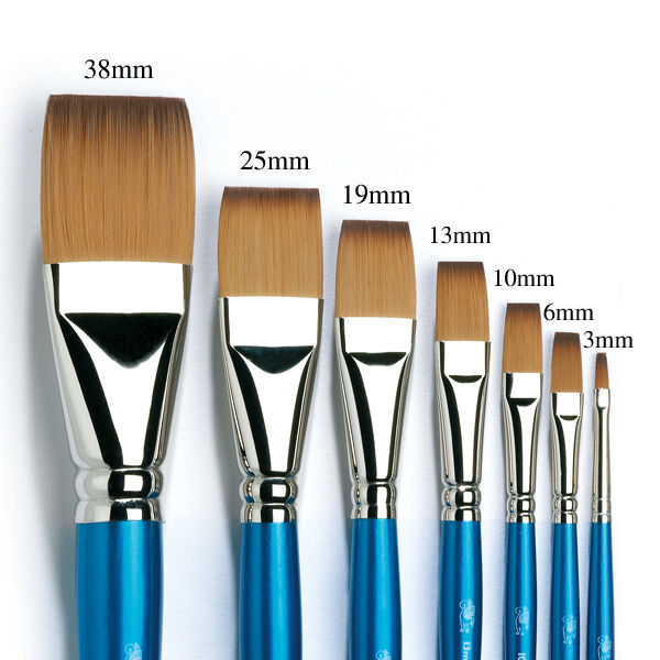 Oil Paint Brush Sizes