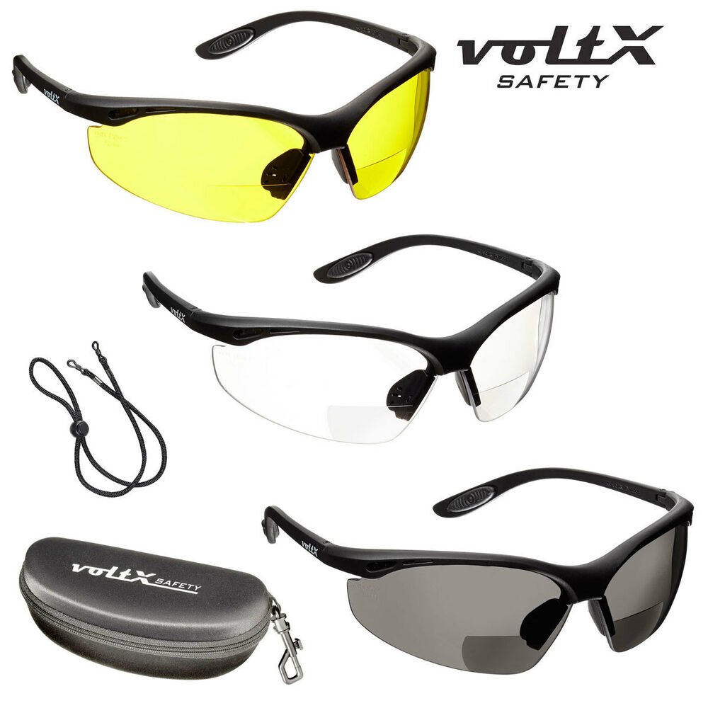 voltx constructor bifocal safety readers clear yellow