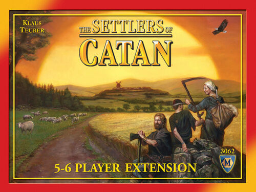 5-6 player board games