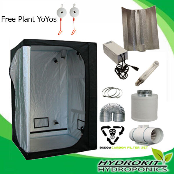 Ultimate 600w Complete Growing Kit For Hydroponics Indoor ...