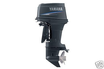 New Yamaha 50tlr Two Stroke 50 Horsepower Outboard Motor