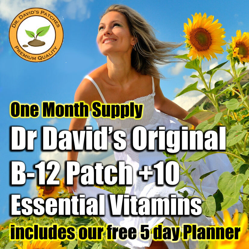 Dr Davids B-12 Patches 10 Essential Vitamins - YouTube