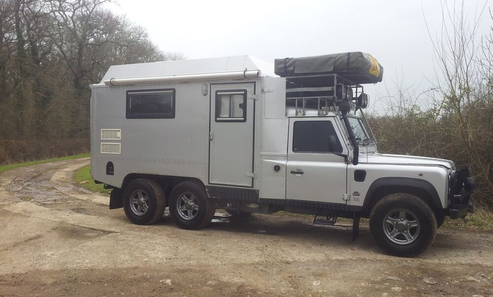 Land Rover Defender 170 Genuine 6x6 Camper Expedition