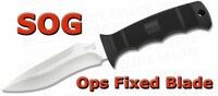 S.O.G. SOG Ops Fixed Blade w/ Kydex Sheath M40-K NEW