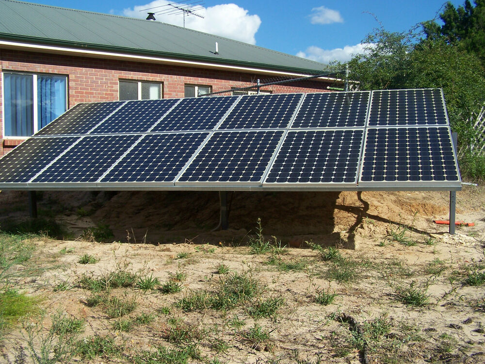 SOLAR SYSTEM KIT OFF GRID 24V 30Kwh STANDBY POWER 10KW P ...